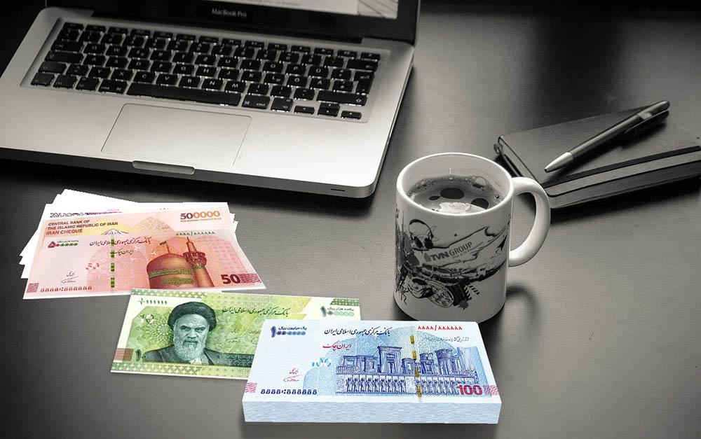 نسل جدید ١٠ هزار تومانی و ایران چک ١٠٠ هزار تومانی در بانک صادرات