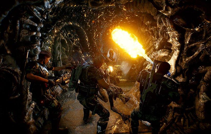 بازی آنلاین Aliens: Fireteam برای کنسولها و کامپیوتر معرفی شد