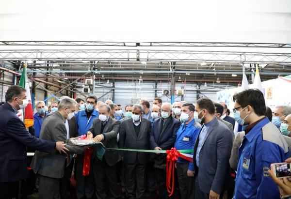 خط تولید گیربکس ششسرعته ایران خودرو به بهرهبرداری رسید