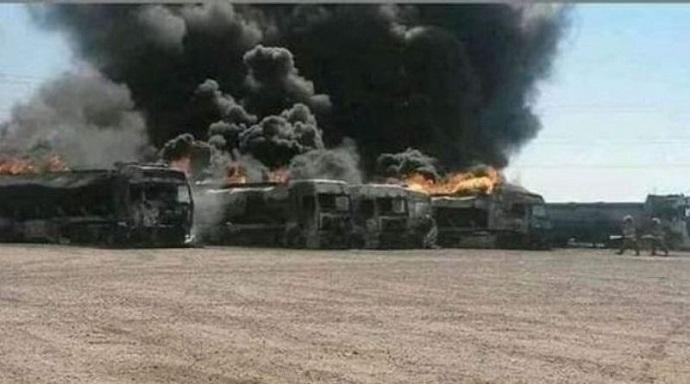 مخازن منفجرشده در افغانستان در مالکیت شرکت پخش ایران نیست