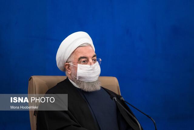 طرحهای ملی وزارت نفت در بوشهر و ایلام با دستور روحانی افتتاح شد