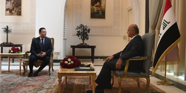 حمایت برهم صالح از هماهنگی بینالمللی و منطقهای برای مقابله با چالشهای جهانی
