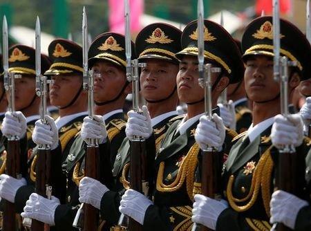 چین بودجه نظامی خود را افزایش می دهد