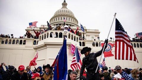 تحقیقات آمریکا درباره ارتباط میان قانونگذاران و عاملان حمله به کنگره