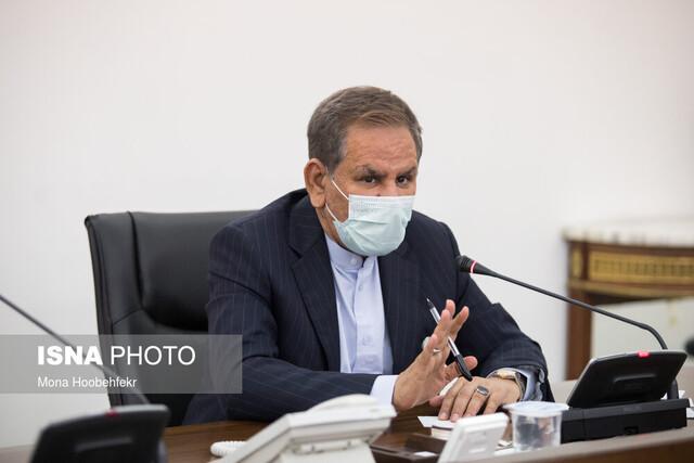 جهانگیری: راه آهن ایران به دریای مدیترانه متصل شود