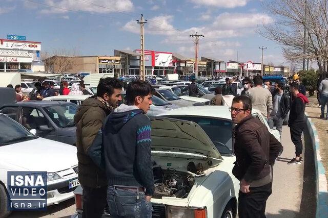 ویدئو / تاخت و تاز کرونا در «شهر ماشین» همدان