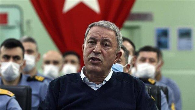 وزیر دفاع ترکیه از تحول بسیار مهم در روابط با مصر خبر داد