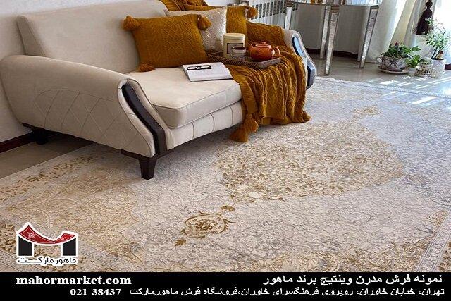 فرش را گران نخرید! بهترین قیمت فرش ماشینی ۱۲ متری چقدر است؟