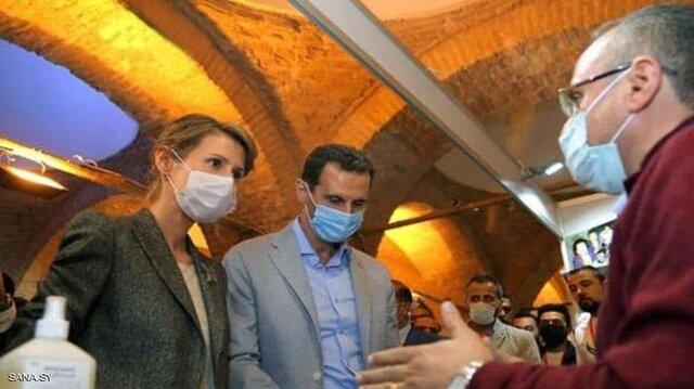 ابتلای بشار اسد و همسرش به کرونا