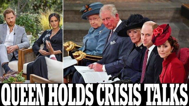 ملکه انگلیس نمیخواهد به مصاحبه مگان مارکل واکنش نشان دهد