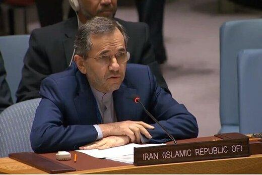 ایران در نامهای به سازمان ملل ادعای اسرائیل را رد کرد