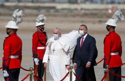 فراخوان الکاظمی پس از سفر پاپ