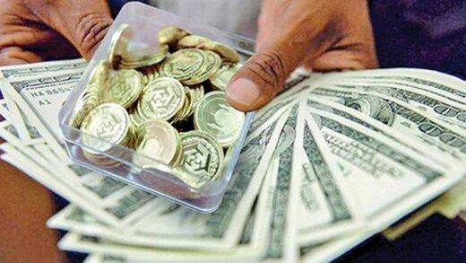 ثبت بازده منفی دربازارسکه و دلار / آیا دلار به زیر مرز ۲۴ هزار تومان بازمی گردد؟