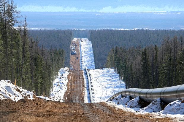 روسیه صادرات گاز به چین از خط لوله «قدرت سیبری» را ۳ برابر کرد