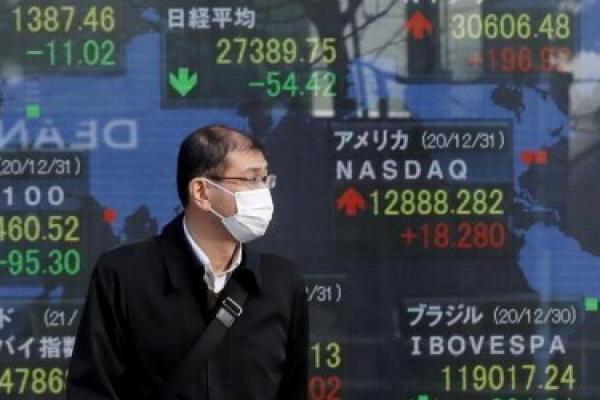 نوسان سهام آسیایی