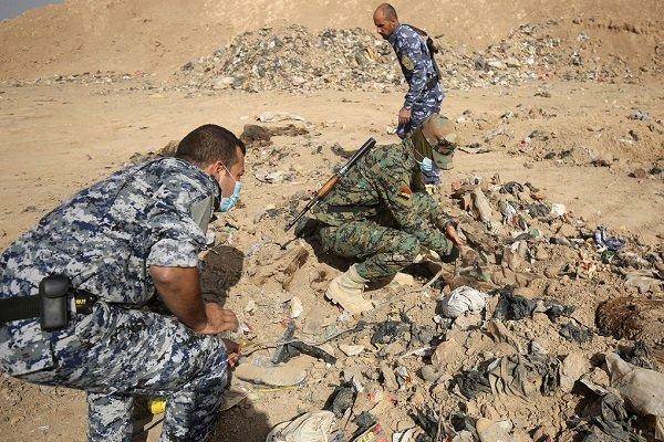 کشف گور جمعی در موصل عراق