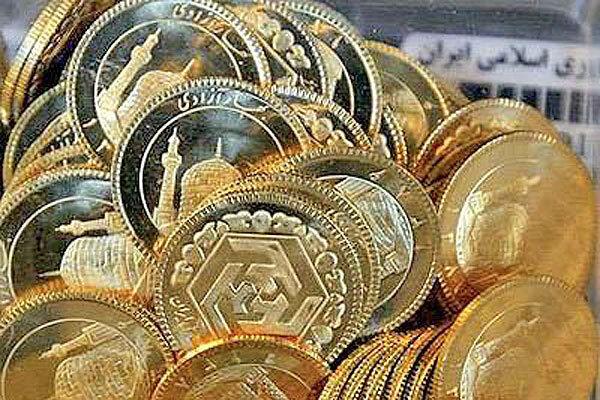 کاهش ۵۵۰ هزار تومانی قیمت سکه طی یک هفته اخیر