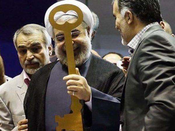 ژست طلبکاری دندانههای کلید روحانی!