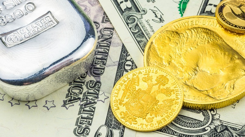 کاهش قیمت سکه و طلا، ریزش دلار به زیر 25 هزار تومان