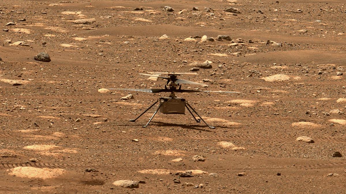 ناسا پرواز هلیکوپتر «نبوغ» در مریخ را تا ۲۵ فروردین به تعویق انداخت