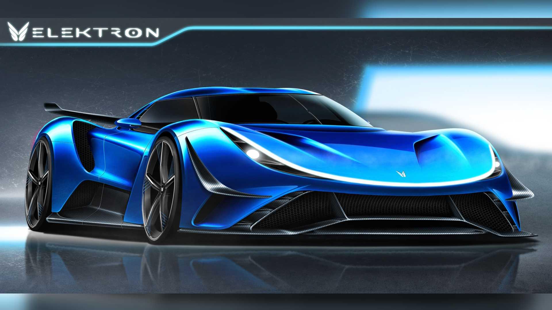 صفر تا صد فقط 1.65 ثانیه؛ 2300 اسب بخار برقی در سینه ابر خودرو آلمانی الکترون کواسار