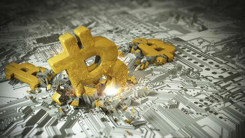 سقوط ۱۵ درصدی بیت کوین