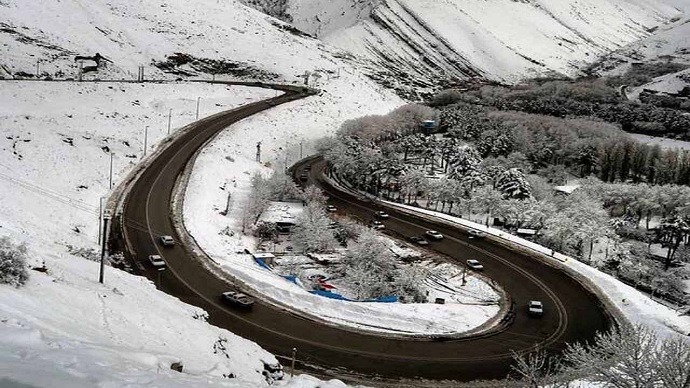جاده هراز ۳۰ و ۳۱ فروردین مسدود میشود