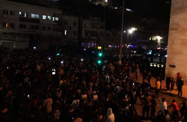 عیان شدن تنشهای اجتماعی در اردن