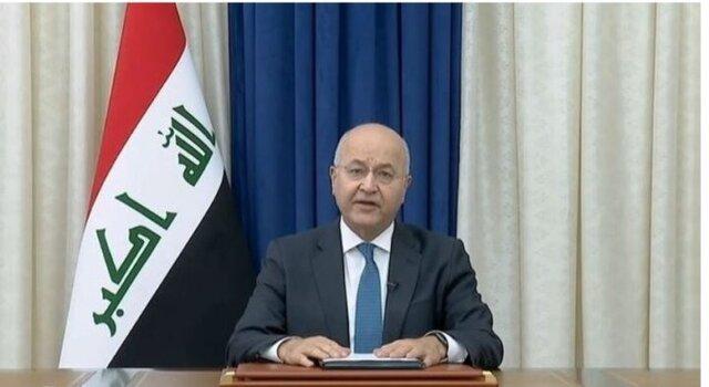 رئیس جمهوری عراق حکم برگزاری انتخابات در ۱۰ اکتبر آتی را امضا کرد