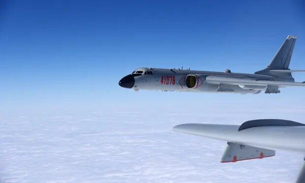 """تایوان """"بزرگترین نفوذ نیروی هوایی چین"""" به منطقه پدافند هواییاش را ثبت کرد"""