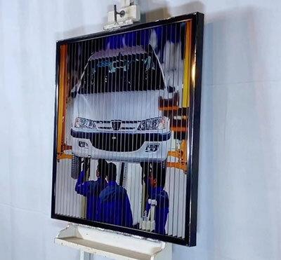 قاب عکس سه بعدی که در ایران تولید میشود