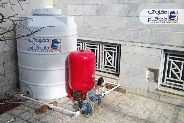 بهترین مخزن آب برای حل مشکل فشار آب ساختمان