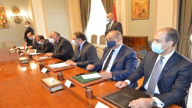 دیدار وزرای خارجه مصر و یونان