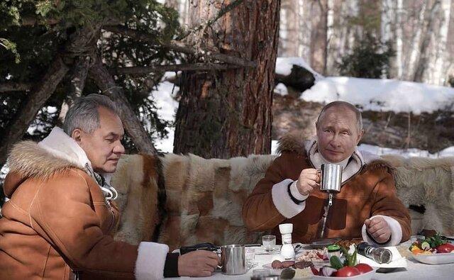 چرا پوتین، سیبری را برای تعطیلات انتخاب کرد