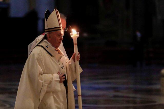 پاپ خواستار کاهش تنشها بین روسیه و اوکراین