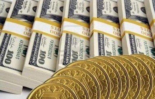 قیمت سکه، طلا و ارز ۱۴۰۰.۰۱.۲۲ /  کاهش نرخ ارز در بازار