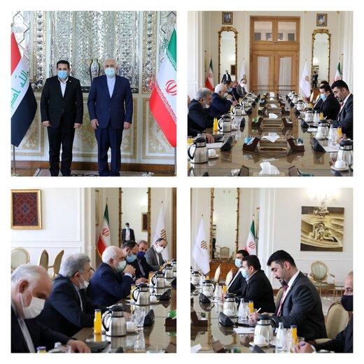 رایزنی ظریف با مقام امنیتی عراق درباره پیگیری پرونده سردار شهید سلیمانی