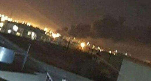 آتشسوزی در پایگاه آمریکایی/ فرودگاه اربیل بسته شد