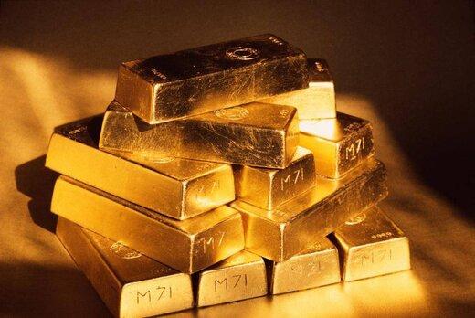 قیمت طلا در بالاترین سطح دو ماه اخیرباقی ماند