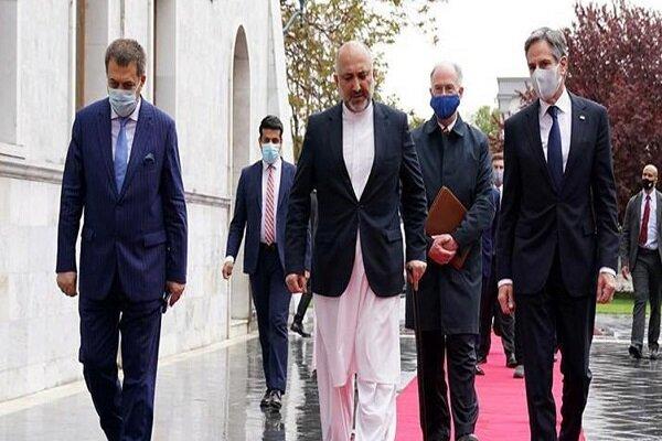 سفر بلینکن به افغانستان/ غنی: توانایی دفاع از کشورمان را داریم