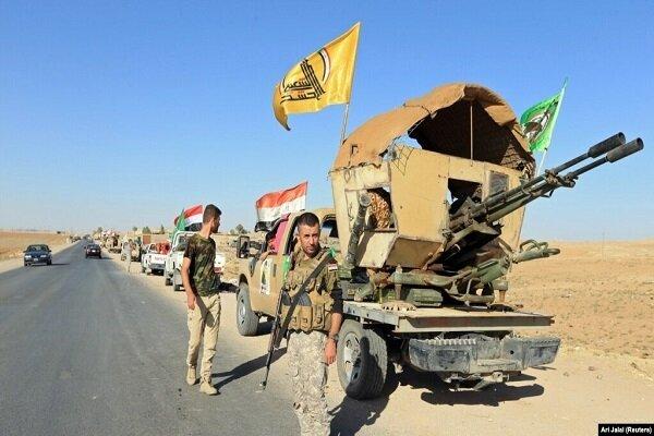 حمله راکتی به پایگاه حشد شعبی در استان کرکوک عراق