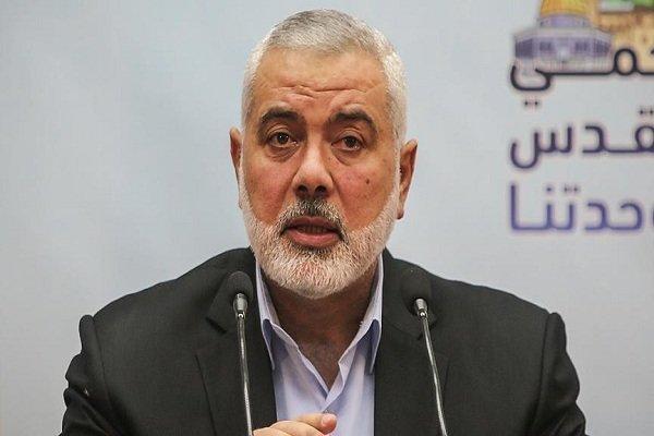 «اسماعیل هنیه» شهادت سردار حجازی را به رهبر معظم انقلاب تسلیت گفت