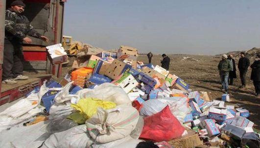 انهدام ۹۳ تن کالای قاچاق و متروکه در خوزستان و بندر عباس