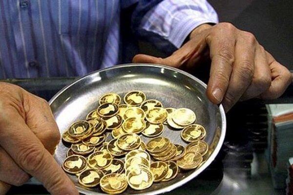 افت ۱۱۰ هزار تومانی نرخ سکه