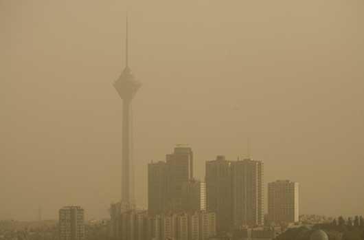 وزش باد شدید و گردوخاک در تهران و برخی استانها در ۲ روز آینده