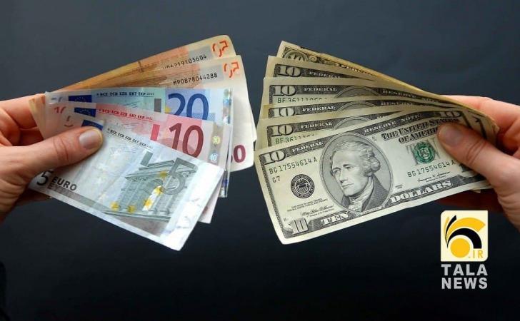 جدیدترین قیمت دلار و یورو در صرافی ملی /رشد نرخ رسمی یورو و ۲۴ ارز دیگر