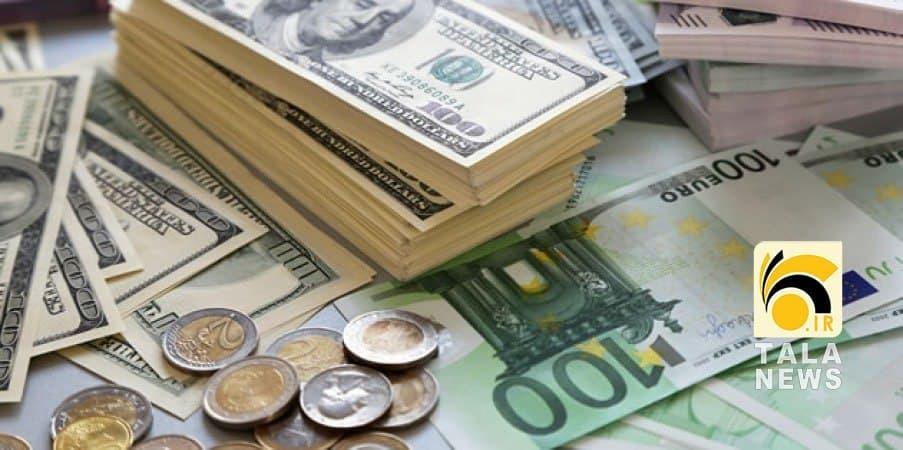 گرانی قیمت دلار و یورو در 25 فروردین 1400