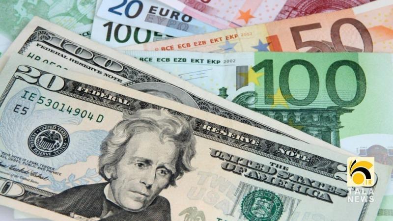 قیمت دلار و یورو در صرافی ملی اعلام شد/نرخ یورو و ۲۶ ارز دیگر افزایش یافت