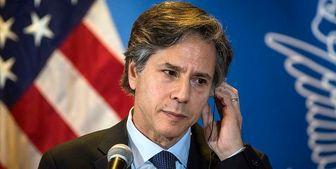 اظهارات خنده دار وزیر خارجه آمریکا درباره جنایت صهیونیستها