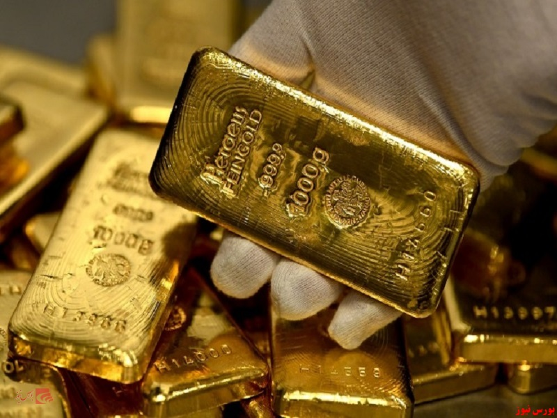 قیمت طلا به بالاترین میزان سه ماه گذشته رسید